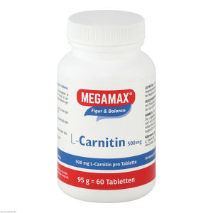 MEGAMAX L-Carnitin 500mg